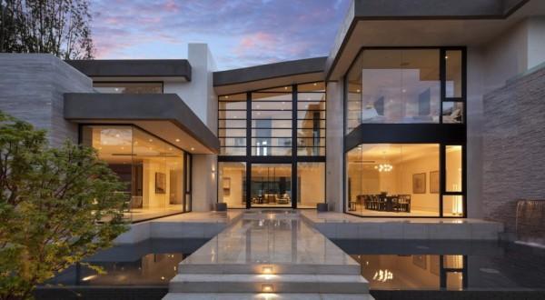 San Vicente maison en Californie, adaptée à un mode de vie moderne ...