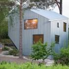 Maison Sculpturale et abordable maison préfabriquée en Suède