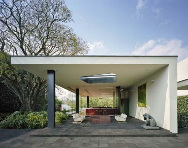 Charmante résidence moderne en béton et en verre - Immobilier ...