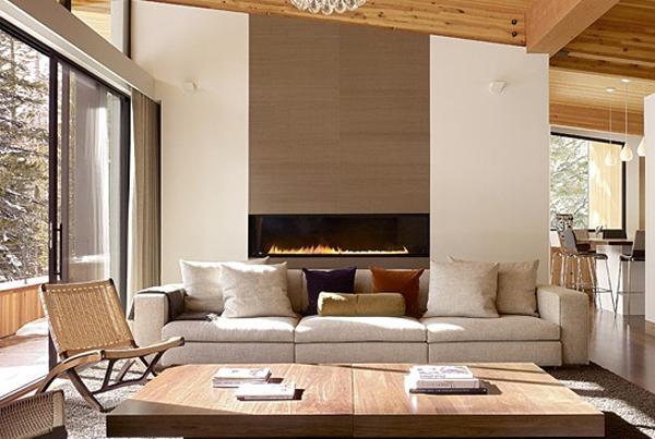 Maison de r ve d 39 hiver dans un petit village en californie - Residence inversee studios architecture en californie ...
