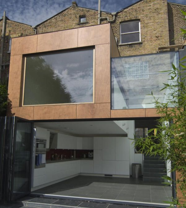 Extension moderne cr ative pour une r sidence londonienne for Extension immobilier