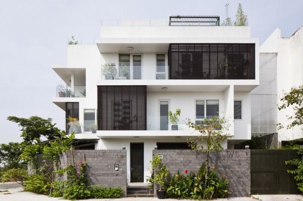 Maison Moderne Adapte A Un Environnement Tropical Au Vietnam