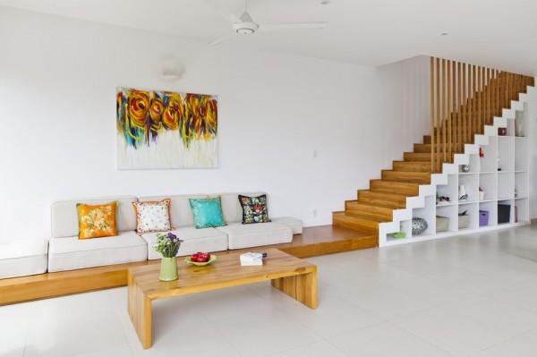 Maison moderne adapt un environnement tropical au for Acheter maison au vietnam