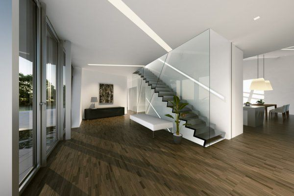 La villa de studio daniel libeskind immobilier maison for Interni case design