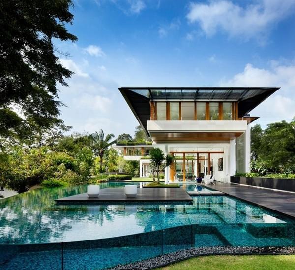 R sidence de bungalow d 39 inspiration tropicale singapour for Acheter une nouvelle maison