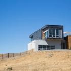 Maison La maison préfabriquée FAB surplombant des Panoramas de Sonoma ' s Rolling Hills