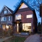 Maison Vintage-Edwardian bâtiment modernisé avec goût en maison moderne
