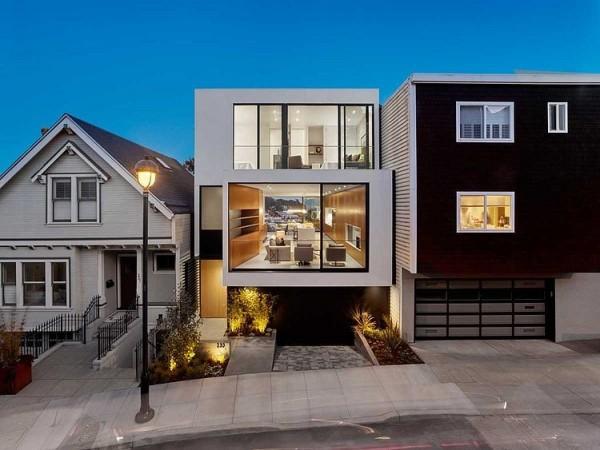 Beautiful Maison Moderne Ville Images - Design Trends 2017 ...