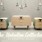 Meuble Collection de mobilier de style ancien Pin-Up mariant fonctionnalité et Style rétro
