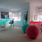 Meuble Table réglable de Smart Design avec éclairage ambiant LED: TableAir