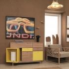Meuble Dynamique détails armature d'originalité dans les maisons contemporaines : Pandora Sideboard