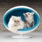Meuble Moderne élevé lit de luxe pour chiens et chats : Padpod de l'écorce & Miao