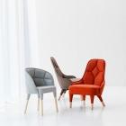 Meuble Élégamment relié : EMMA et EMILY rembourré chaise Designs par Färg & Blanche
