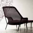 Meuble Spacieuse et confortable fauteuil moderne défini par une Structure légère