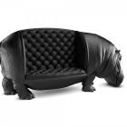 Meuble Déconcertant de l'esprit : chaise hippopotame par Maximo Riera