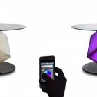 Meuble D'avant-Garde Cupiditas Table pilotable par Smartphone ou tablette
