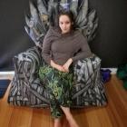 Meuble Game of Thrones passionné ? Voici le sac d'haricot de trône fer bricolage !