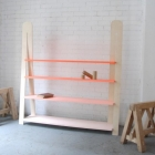 Meuble Une touche Bohème pour intérieurs modernes : l'étagère dégradé