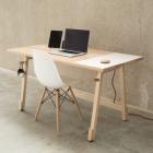 Meuble Bureau en bois massif moderne pour faciliter votre flux de travail par Artifox