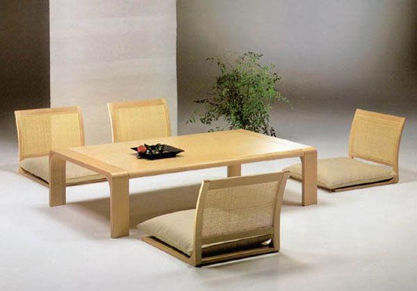 Mobilier de salle manger japonais pour un style for Salle a manger japonaise