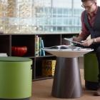Meuble Bouée fauteuil multifonctionnel : Pivotant, oscillo -au Bureau [vidéo]