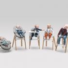 Meuble De la naissance jusqu'à la petite enfance : Stokke polyvalent étapes bébé chaises