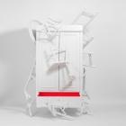 Meuble Rapport de conception puissant contre le gaspillage de meubles : Le placard de la corbeille