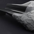 Meuble Sculpturale et provocante : canapé Onyx par Peugeot Design Lab