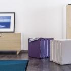 Meuble Ludique d'armoires : Famille de mobilier NODO par Andrea Brugnera