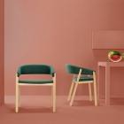 Meuble Mobilier minimaliste Duo améliorant espaces modernes : Oslo chaise & banc de Valentino