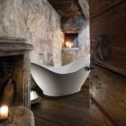 """Salle de bain Baignoire traçant reflétant la """" salle de bain comme Art """" tendance : Juliette de Audrey Newsome"""
