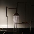 Salle de bain Une approche archétypale de douche : Axor Waterdream Installation de Front