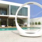 Salle de bain Bénéficiant d'une expérience multisensorielle luxueuse avec la douche de la boucle