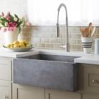 Salle de bain Puits de béton élégants conçu pour alimenter la cuisine et bain industrie