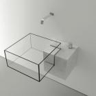 Salle de bain Lavabo minimaliste avec une apparence presque surréaliste : bassin de Kub