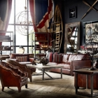 Salon 20 creative et source d'inspiration éclectique-Vintage chambre Designs par Timothy Oulton